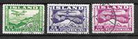 Islanti  - AFA 176+77+78 - Leimattu