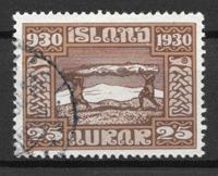 Islanti  - AFA 131 - Leimattu