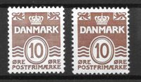 Danemark  - AFA 235 + 235a - Neuf avec charniere