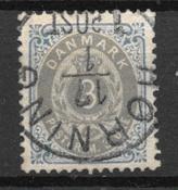 Danmark  - AFA 22B - Stemplet