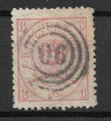 Danemark 1870 - AFA 12A - Oblitéré
