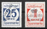 Grönlanti  - 25 øre + 1 kr - Leimattu