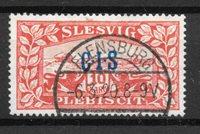 Slesvig 1920 - AFA Tj 14 - Stemplet