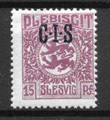 Slesvig 1920 - AFA Tj 5 - Postfrisk