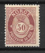 Norge 1893 - AFA 60B - Ustemplet