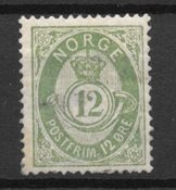 Norge 1882 - AFA 38 - Ustemplet