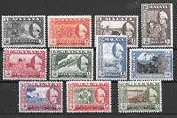 Englannin siirtomaita 1957 - Mic 76-86 - Käyttämätön