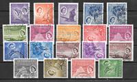 Englannin siirtomaita 1954 - Mic 170-88 - Leimattu