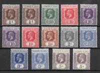 Englannin siirtomaita 1921 - SG .58 -  Div. - Postituore