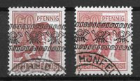 Allemagne 1948 - AFA 30 + 30a - Oblitéré