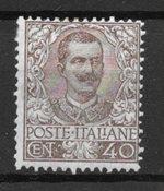 Italie 1901 - AFA 74 - Neuf avec charniere