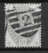 Grande-Bretagne 1883 - AFA 78 - Oblitéré