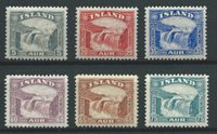 Islande 1931 - AFA 150-155 - Neuf