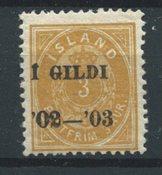 Islande 1902 - AFA 23B - Neuf avec charniere