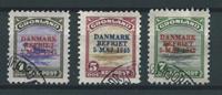 Grönlanti 1945 - AFA 17-19 - Leimattu
