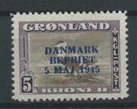 Grönlanti 1945 - AFA 25 - Postituore