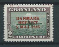 Grönlanti 1945 - AFA 24 - Postituore