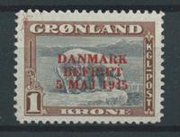 Grönlanti 1945 - AFA 23 - Käyttämätön