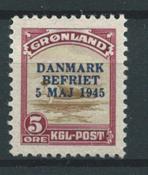 Grönlanti 1945 - AFA 18 - Käyttämätön