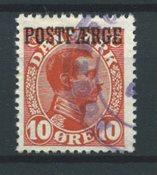 Danemark 1919 - PF AFA 1 - Oblitéré