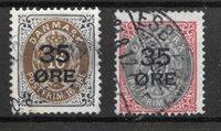 Danemark 1912 - AFA 60+61 - Oblitéré
