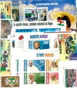 Niger/Nigeria - Frimærkepakke - Postfrisk