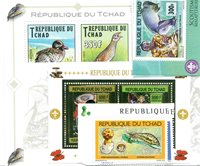 Tchad - Paquet de timbres  - Neuf