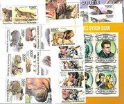 Burundi - Paquet de timbres  - Neuf