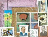 Uzbekistan -  Paquet de timbres - Neufs
