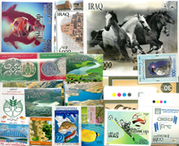 Iran, Irak, Jordan - Frimærkepakke - Postfrisk