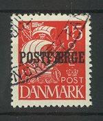Danemark - Postfaerge AFA 10 oblitéré