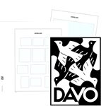 2018 - Luxe album pages - DAVO