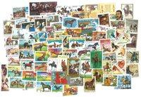 Cavalli - 100 francobolli