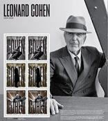 Canada - Leonard Cohen - Bloc-feuillet neuf