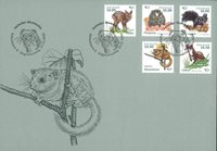 Denmark - Mammals - First Day Cover