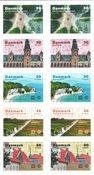 Danmark - Unesco Verdensarv - Postfrisk 10-ark