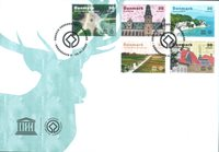 Denmark - World heritage Unesco - First Day Cover