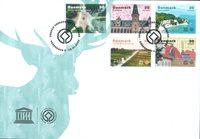 Danmark - Unesco Verdensarv - FDC