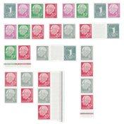 Allemagne  - Combinaisons de carnets de timbres  -  Neuf
