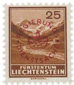 Liechtenstein 1934 - Michel D15a - Neuf