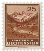 Liechtenstein 1934 - Michel D15a - Postfrisk