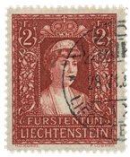 Liechtenstein 1933 - Michel 140 - Stemplet