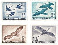 Autriche 1953 - Michel 984/987 - Neuf