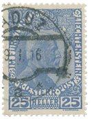 Liechtenstein 1912 - Michel 3yb - Stemplet