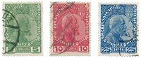 Liechtenstein 1912 - Michel 1/3y - Stemplet