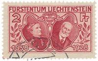 Liechtenstein 1928 - Michel 88 - Oblitéré