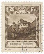 Liechtenstein 1930 - Michel 105 - Oblitéré