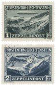 Liechtenstein 1931 - Michel 114/115 - Oblitéré