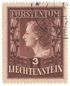 Liechtenstein 1951 - Michel 305B - Oblitéré