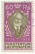 Liechtenstein 1928 - Michel 85 - Oblitéré